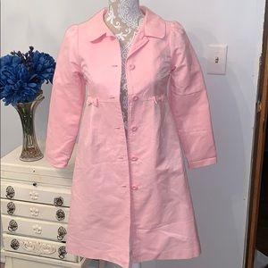 Girls pink dress jacket